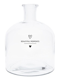 Bastion Collections - Glazen fles (S) Beautiful moments
