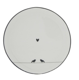 Bastion Collections - Gebaksbordje Love Birds