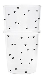 Bastion Collections - Tumbler 'hearts'