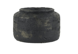 IB Laursen - Pot Akropolis zwart