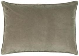 IB Laursen - kussen velvet linen (72x52cm)
