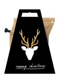 LIV 'N TASTE - giftcard- Merry Christmas-Rendier coffeebrewer