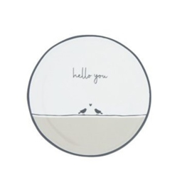 Bastion Collections - Teatips Love Birds Hello You