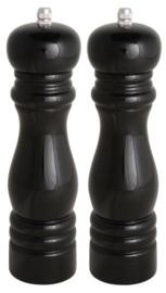 IB Laursen - Peper & Zoutmolen - zwart - per stuk