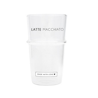 Bastion Collections - Tumbler Macchiato made with love