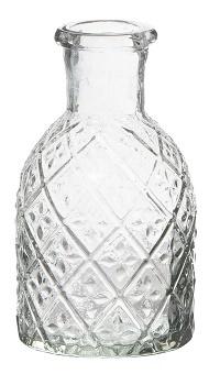 IB Laursen - Apotheek fles voor dinerkaars met harlekijn patroon