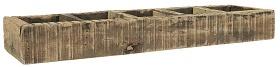 IB Laursen - Unique houten box met 5 vakken