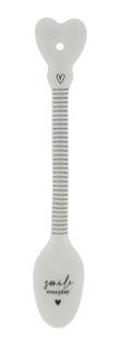 Bastion Collections - Lepeltje stripes 'smile everyday'