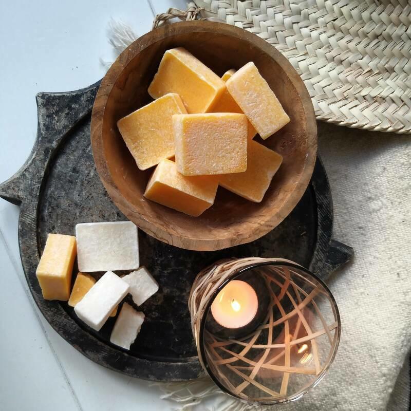 Amberblokje - Mix amber geurblokjes