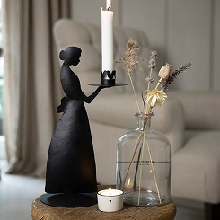 Candle Lady Black  - Bastion Collections