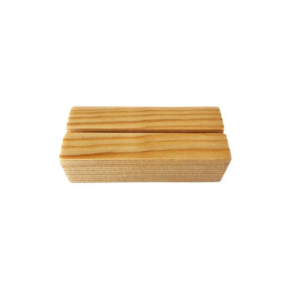 Houten kaartenhouder, 7 cm