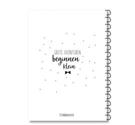 Oppas & Crèche boekje - invulboek