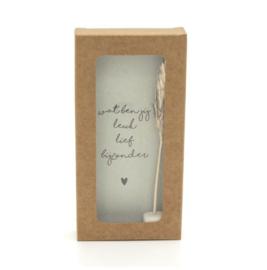Little box - Wat ben jij leuk lief bijzonder - incl. droogbloem