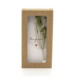 Little box - Bonjour - incl. droogbloem