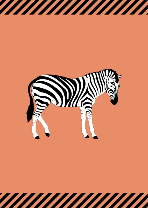 Kaart - Zebra