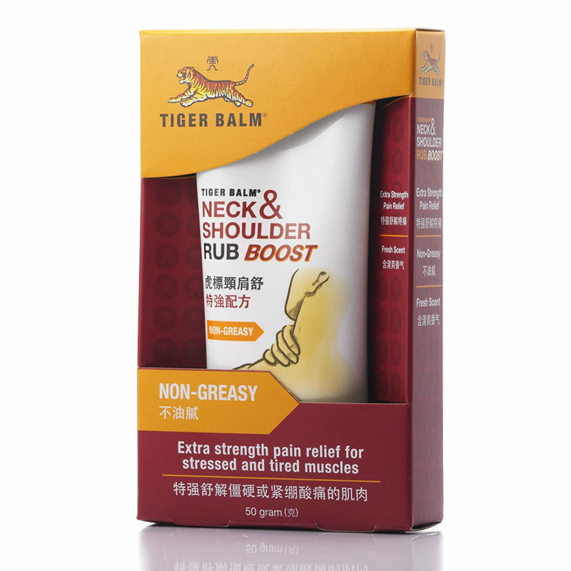 Tiger Balm - Neck & Shoulder rub boost - Non Greasy