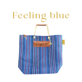 XL Shopper - Feeling blue
