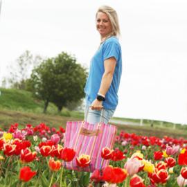 XL Shopper - Pink Lady