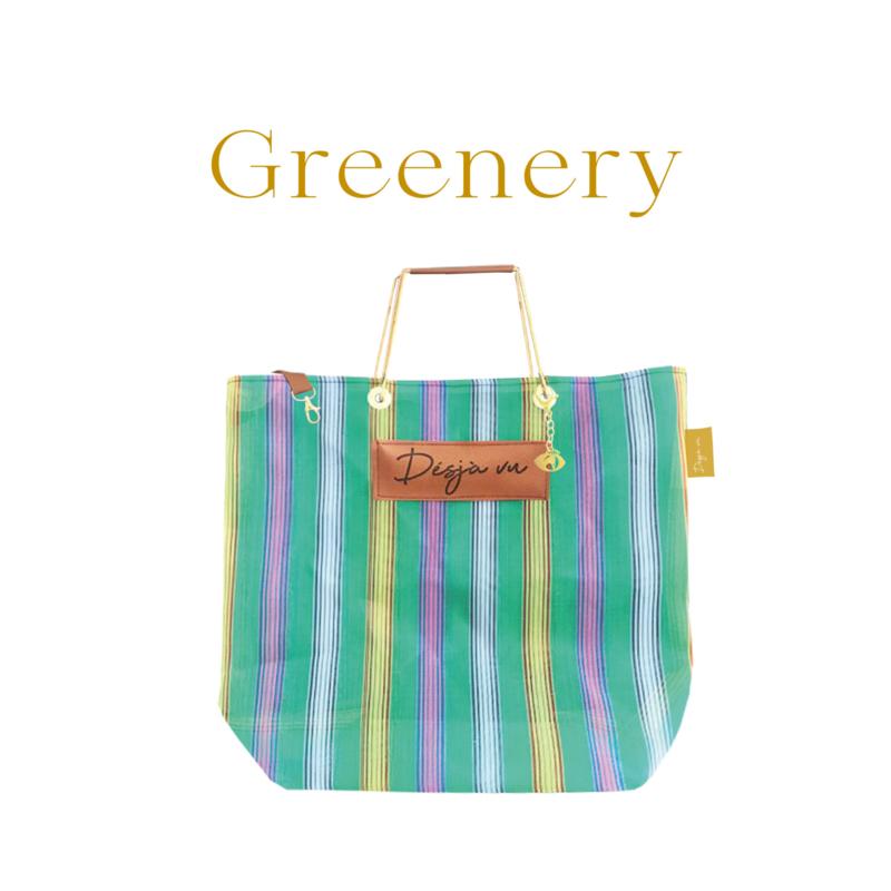 XL Shopper - Greenery