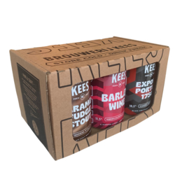 KEES PURE & CRAFT geschenkverpakking (6 blikken)