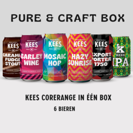 KEES PURE & CRAFT BOX 6-pack