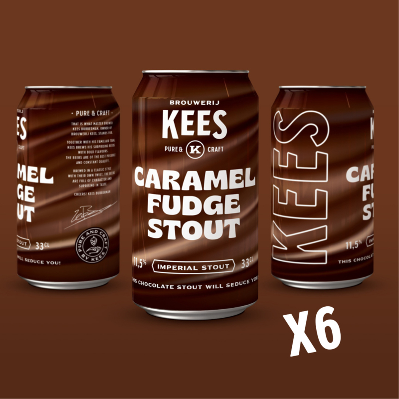 Caramel Fudge 11,5%  ------- 6-pack
