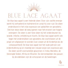 BLUE LACE AGAAT ARMBAND