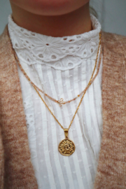 ZONNESTEEN NECKLACE GOLD