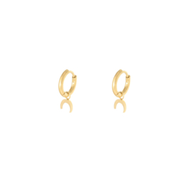 LUNE HOOPS GOLD