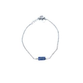 LAZULI BRACELET Silver (met lapis lazuli)