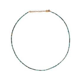 TURKOOIS NECKLACE GOLD