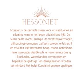 HESSONIET PENDANT GOLD