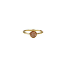 ZONNESTEEN RING GOLD (limited edition)