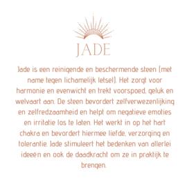 DREAMY JADE BRACELET GOLD