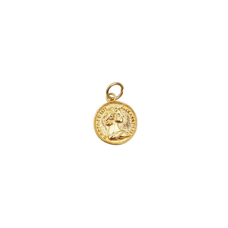 COIN PENDANT GOLD
