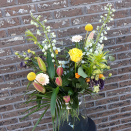 Boeket fleurig -medium-