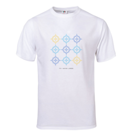 UNISEKS T-SHIRT KLEUR 9 x 8 STER (Merk FRUIT OF THE LOOM ®)