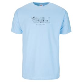UNISEKS T-SHIRT VRIJ (Merk FRUIT OF THE LOOM ®)