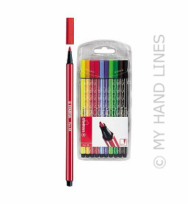 STABILO STIFTEN pen 68 - 10 stuks