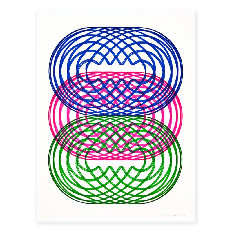 I2 + G5 ║ Blauw, Roze & Groen Nr. 1