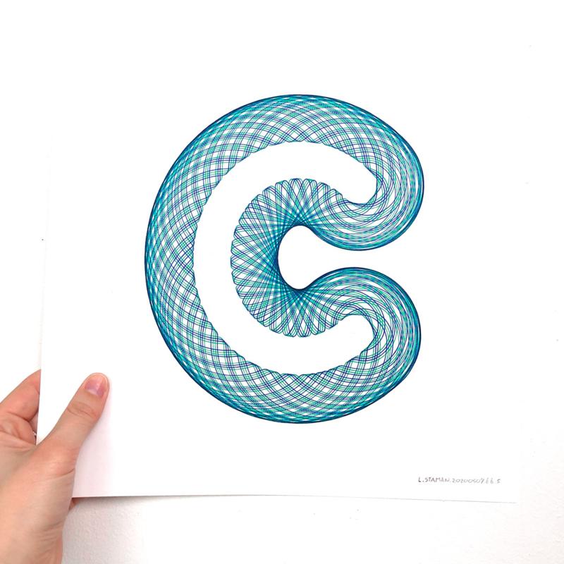C  -  Blauw/Groen