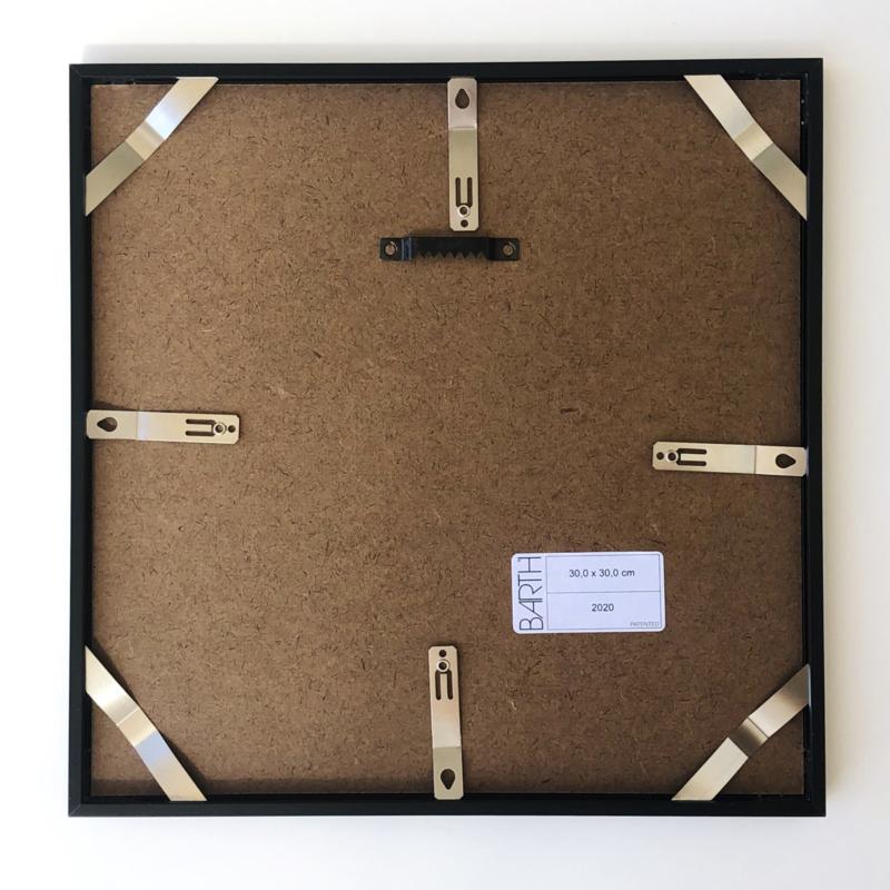 Wissellijst Barth 916 - Aluminium mat zwart