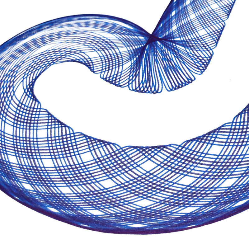 J  -  Blauw + Lichtblauw