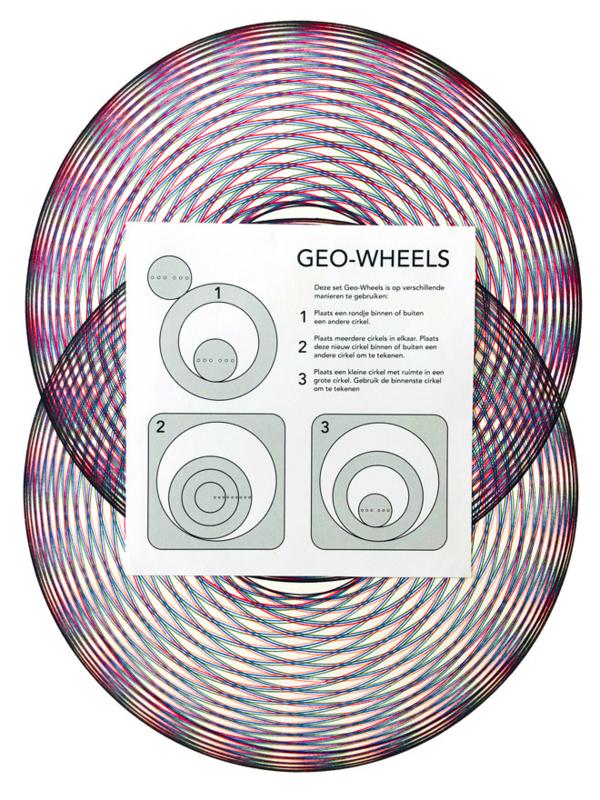 GeoWheels - Spirograph Set