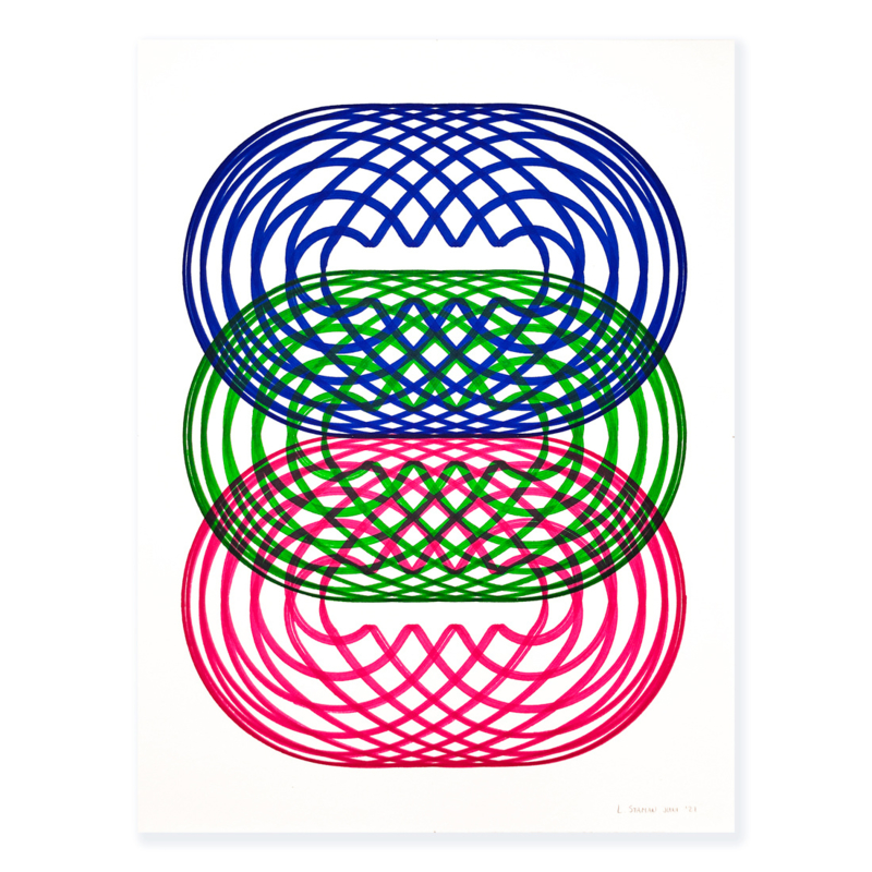 I2 + G5 ║ Blauw, Roze & Groen Nr. 6