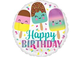 Happy birthday ijsjes 18''