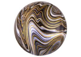 Marble zwart 16x16''