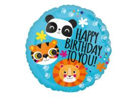 Happy birthday To you dieren 18''