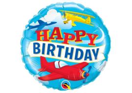 Happy birthday vliegtuigen 18''