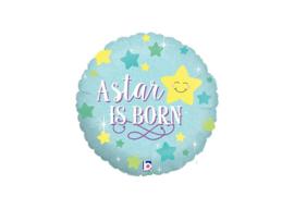 A star is Born blauw 18''